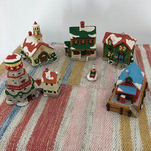 Vintage Christmas Village Decor